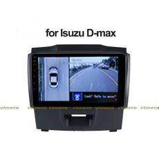 Lắp Camera 360 cho oto Isuzu D-Max