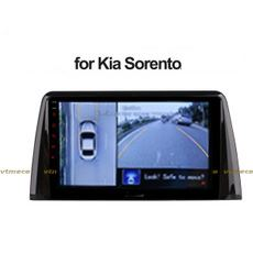 Lắp Camera 360 cho oto Kia Sorento