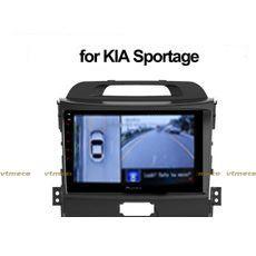 Lắp Camera 360 cho oto Kia Sportage