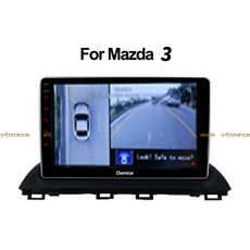 Lắp Camera 360 cho oto Mazda 3