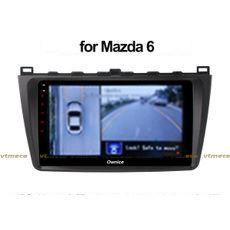 Lắp Camera 360 cho oto Mazda 6