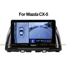 Lắp Camera 360 cho oto Mazda CX5