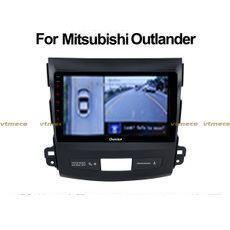 Lắp Camera 360 cho oto Mitsubishi Outlander