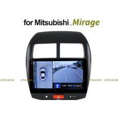 Lắp Camera 360 cho oto Mitsubishi Mirage