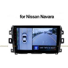 Lắp Camera 360 cho oto Nissan Navara