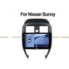 Lắp Camera 360 cho oto Nissan Sunny