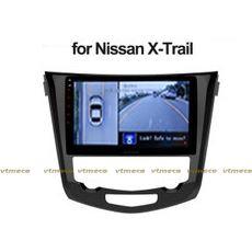 Lắp Camera 360 cho oto Nissan Xtrail