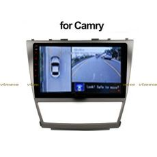 Lắp Camera 360 cho oto Toyota Camry