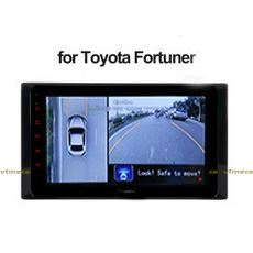 Lắp Camera 360 cho oto Toyota Fortuner