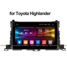 Lắp Đầu DVD Android 3G, 4G, Wifi, GPS Cho Ô Tô Toyota Highlander