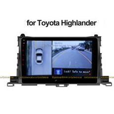 Lắp Camera 360 cho oto Toyota Highlander