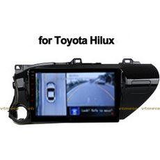 Lắp Camera 360 cho oto Toyota Hilux
