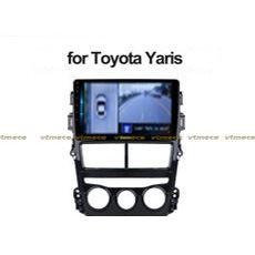 Lắp Camera 360 cho oto Toyota Yaris